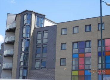 Cappings at Student Living Accommodation - KMA Shot Blasting UK