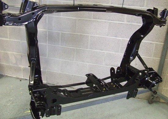 Car Sub Frame Restoration - KMA Shot Blasting