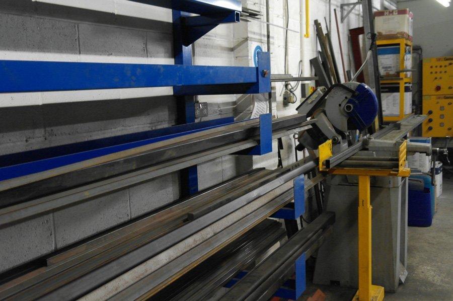 Industrial Fabrication - KMA Shot Blasting