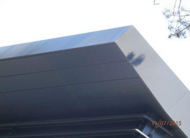 Planked Soffit at Nairn Road - KMA Shot Blasting UK
