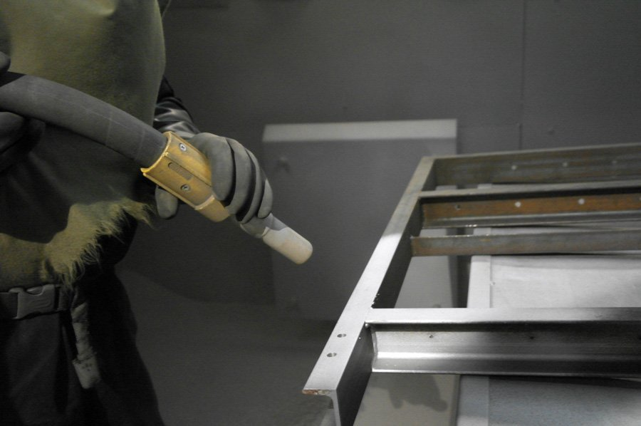 Powder Coating - KMA Shot Blasting