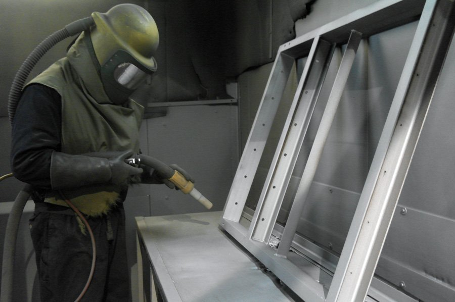 Powder Coating-3-KMA Shot Blasting