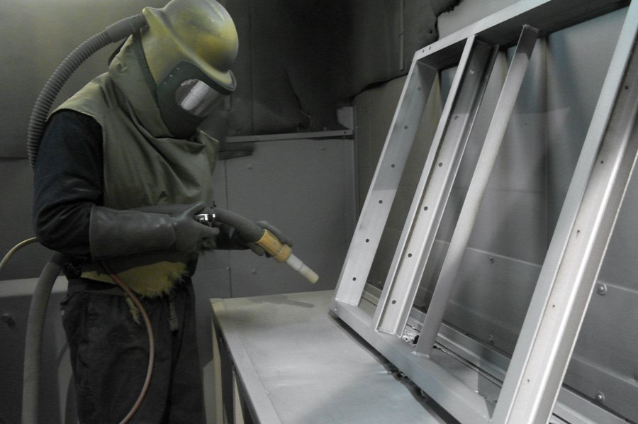 Powder Coating-4-KMA Shot Blasting