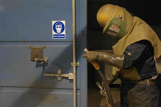 Shot Blasting Specialist in Poole Dorset